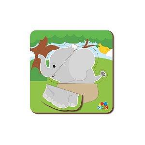Quebra Cabeça Baby Elefante - Babebi