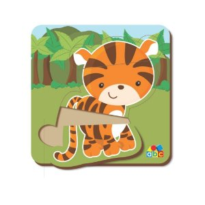 Quebra Cabeça Baby Tigre - Babebi