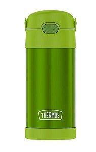 Garrafinha Térmica FOOGO 355 mL Verde - Thermos Foogo