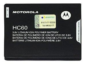 Bateria Hc60 Moto C Plus Motorola Xt1726 Novo Lacrado