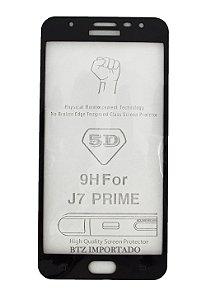 [KIT COM 10] Película Vidro 3d Sm J7 Prime Cobre Tela Toda Novo