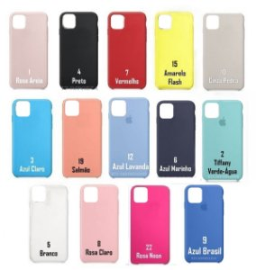[PACOTE COM 50] Capa Silicone Case iPhone iPhone 11 PRO