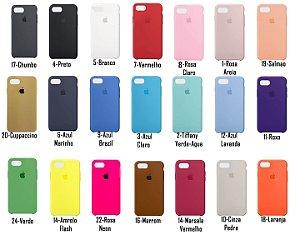 [PACOTE COM 50] Capa Silicone Case iPhone iPhone 7/8 PLUS