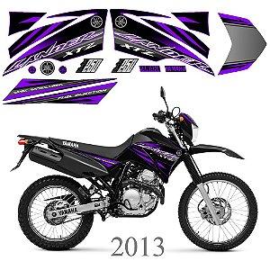 Faixa Lander 250 roxa grafismo 2013