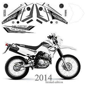 Faixa Lander 250 cinza com branco grafismo 2014
