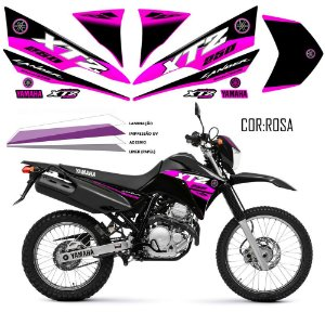 Faixa Lander 250 rosa grafismo 2016