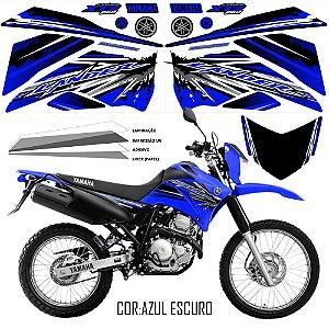 Faixa Lander 250 azul grafismo 2017 exclusivo