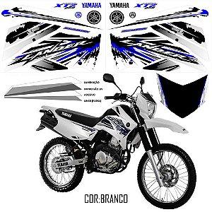 Faixa Lander 250 azul com branco grafismo 2017 exclusivo