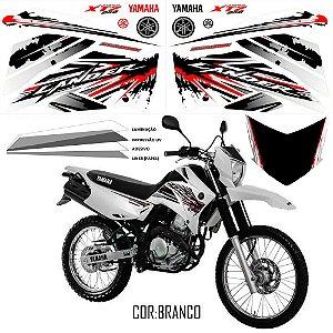 Faixa Lander 250 vermelho com branco grafismo 2017 exclusivo