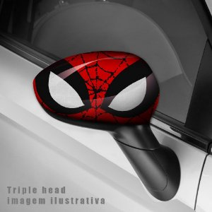 Spiderman envelopamento retrovisor