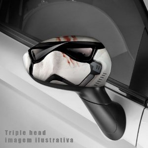 Storm trooper envelopamento retrovisor