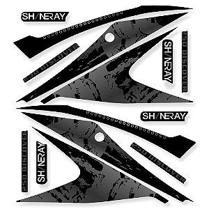 Faixa Shineray Discovery 250 preta