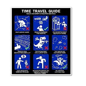 Guia de Viagem no Tempo Sticker