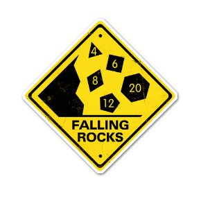 Rocks Fall, Everyone Dies Sticker