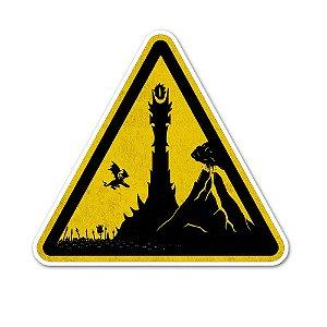Caminho de Mordor Sticker