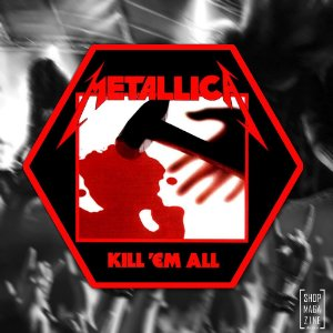 Metallica Kill Em All sticker