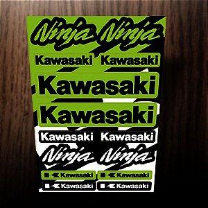 Adesivos refletivos kawasaki ninja