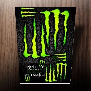 Adesivos monster energy verde