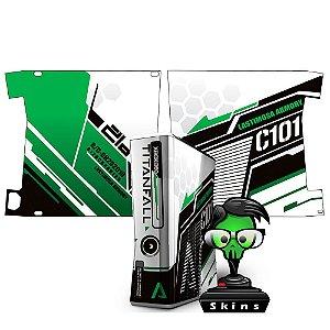 Skin xbox 360 titanfall verde