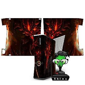 Skin xbox 360 slim Diablo 3