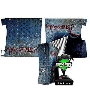 Skin xbox 360 slim Joker Why so serious?