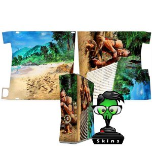 Skin xbox 360 slim Far Cry Vaz