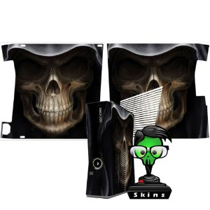 Skin xbox 360 slim Death Skull