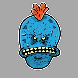 Mr Meeseeks Look at Me Sticker