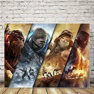 Xbox games Placa mdf decorativa