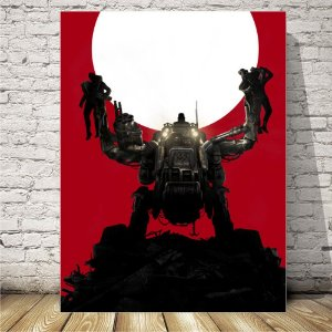 wolfenstein Placa mdf decorativa