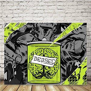 Watchdogs Dedsec verde Placa mdf decorativa