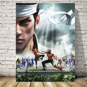 virtua Fighter Placa mdf decorativa