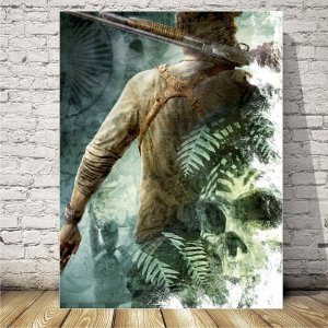 Uncharted Placa mdf decorativa