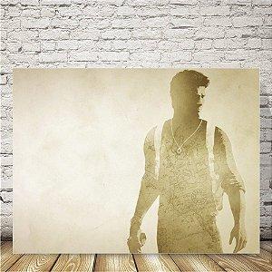 Uncharted Drake Placa mdf decorativa