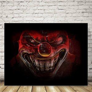 Twisted metal Placa mdf decorativa