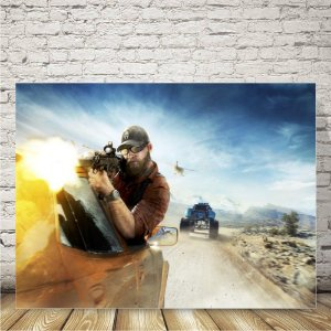 Ghost Recon wildlands Placa mdf decorativa