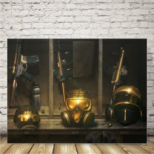 Rainbow six Placa mdf decorativa