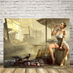 The witcher map Placa mdf decorativa
