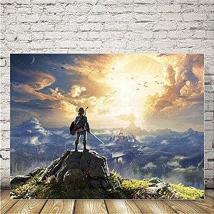 Zelda Placa mdf decorativa