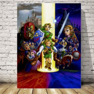 The legend of Zelda Placa mdf decorativa