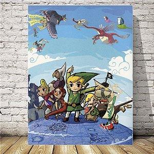 The legend of Zelda Placa mdf decorativa