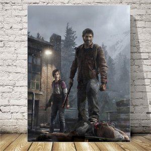 The Last of Us Placa mdf decorativa