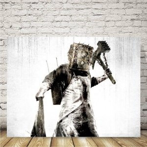 The Evil Within Placa decorativa mdf