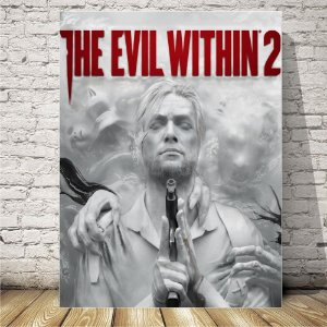 The Evil Within 2 Placa mdf decorativa