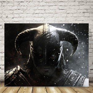 Skyrim Placa mdf decorativa