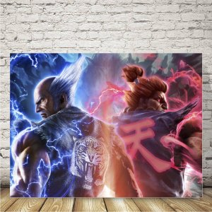 Tekken Placa mdf decorativa