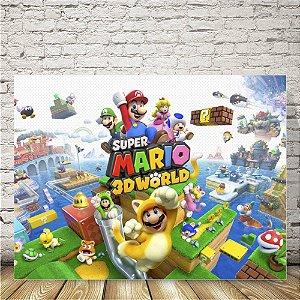 Super Mario 3d World Placa mdf decorativa
