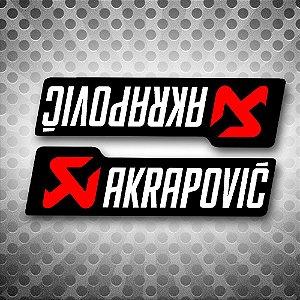 Akrapovic adesivo sticker