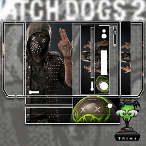 Skin adesivo xbox one fat Watchdogs 2