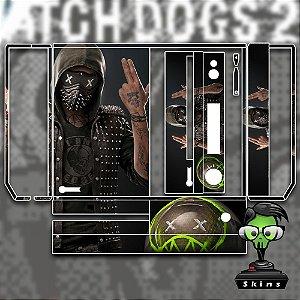 Skin adesivo xbox one fat Watchdogs 2